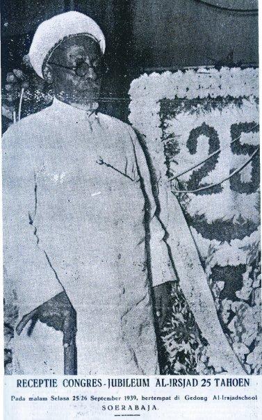 Syekh Ahmad Surkati di Jubileum 1939